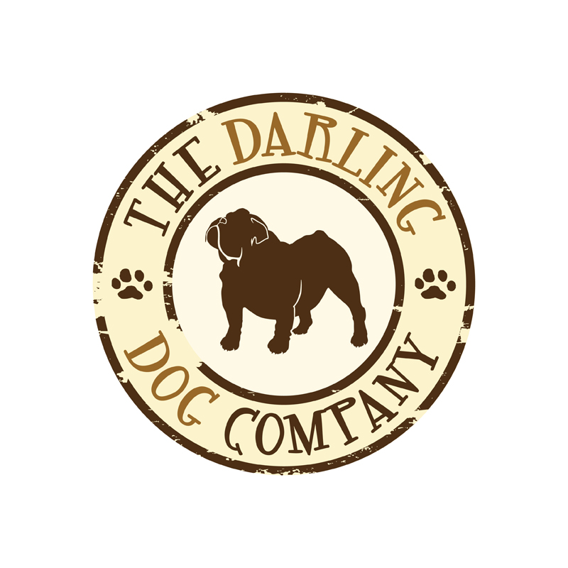 Darling Dog Co. | Brands of the World™ | Download vector ...