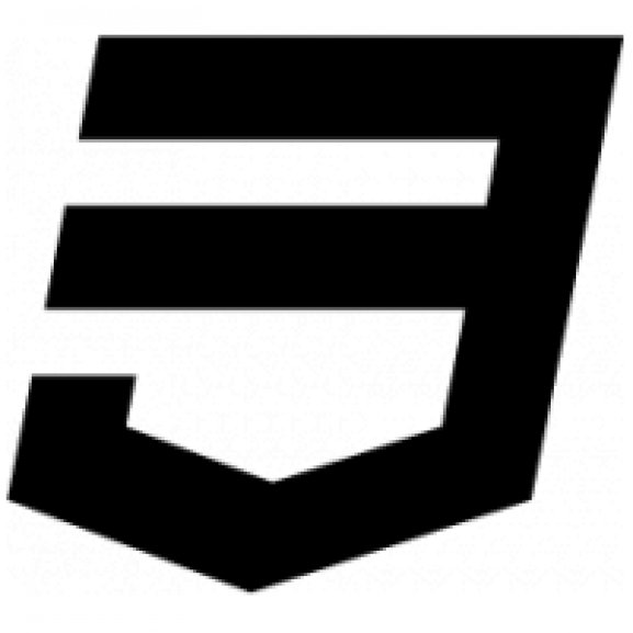 Logo of HTML5 technology class icon Styling