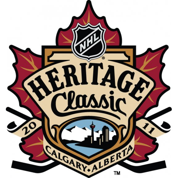 Logo of 2011 NHL Heritage Classic