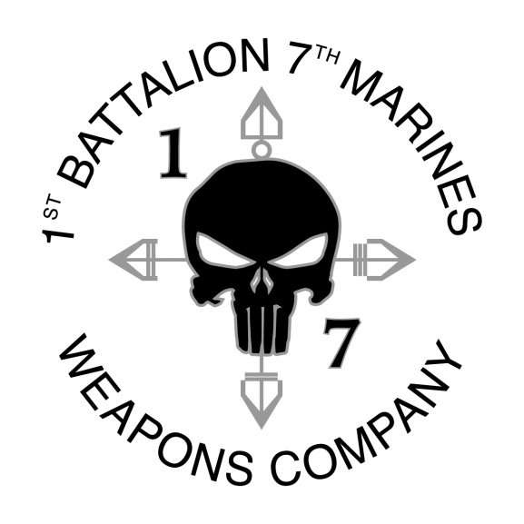 Logo of 1st Battalion 7th Marines