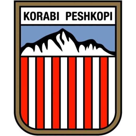 Logo of Korabi Peshkopi (60's logo)