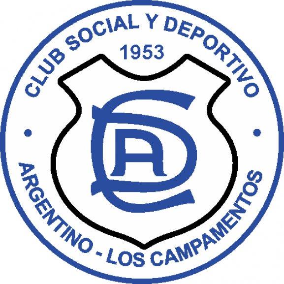 Logo of Club Social y Deportivo Argentino de Los Campamentos Mendoza