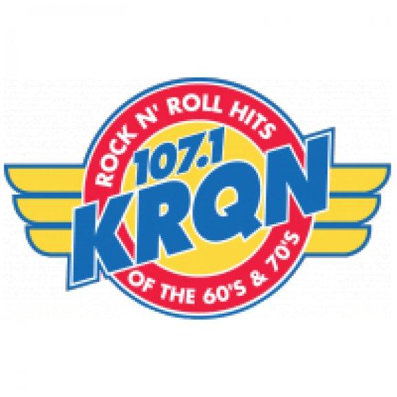 Logo of 107.1 KRQN