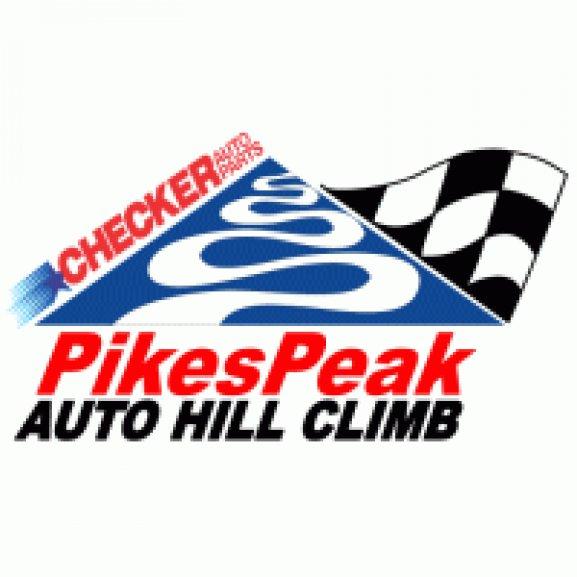 Logo of Checker Auto Parts Pikes Peak 1988