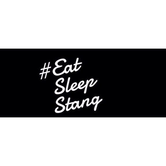 Logo of Eat Sleep Stang