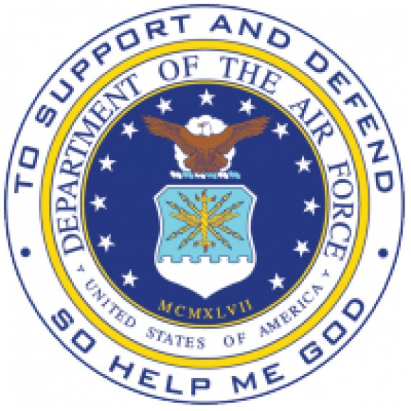 Logo of Department of the Air Force - United States of America