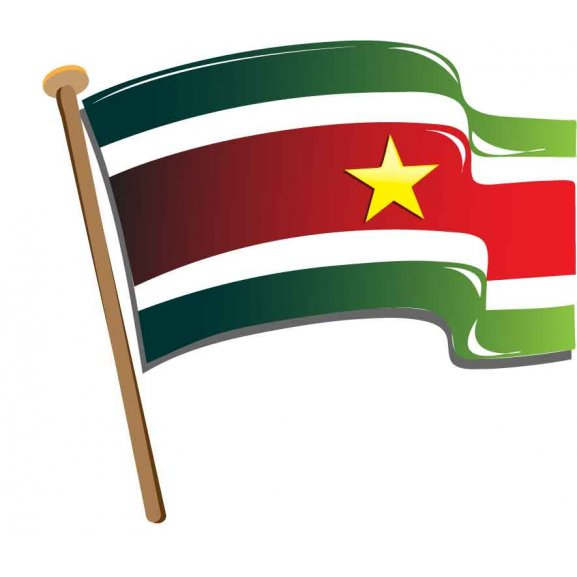 Logo of Suriname_dynamic flag.eps