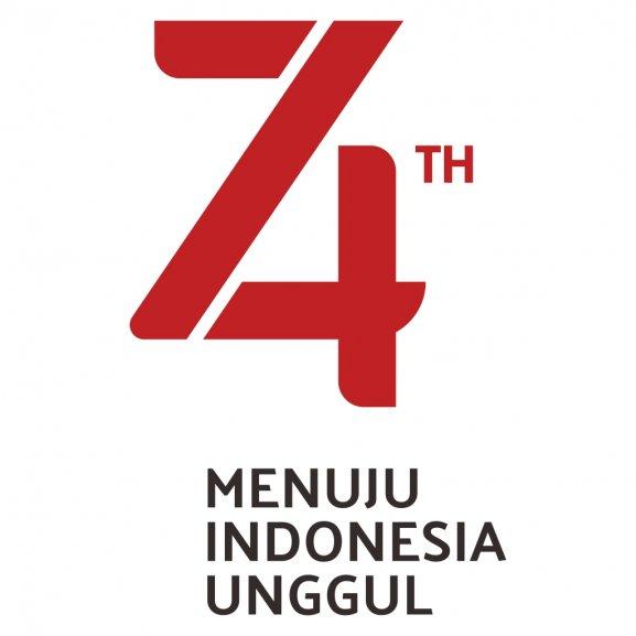 Logo of Logo HUT Kemerdekaan Republik Indonesia ke 74