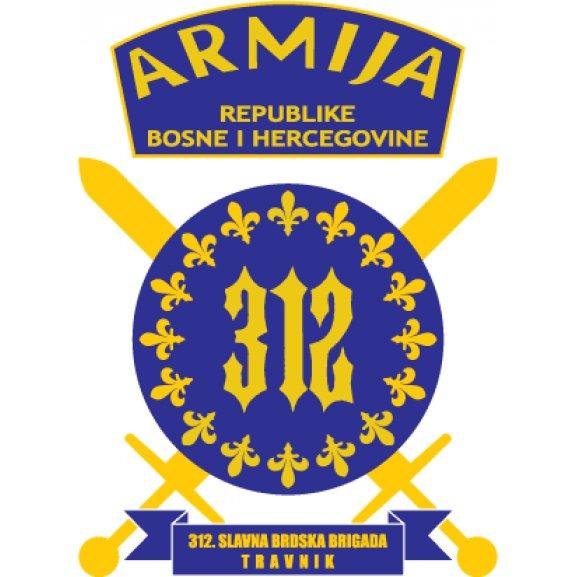 Logo of 312. Slavna Brdska Brigada Armija BiH