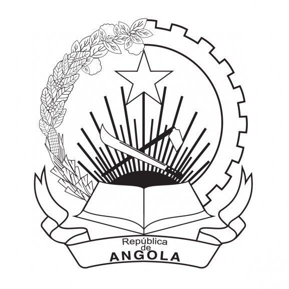 Logo of Angola Coat of Arms BW