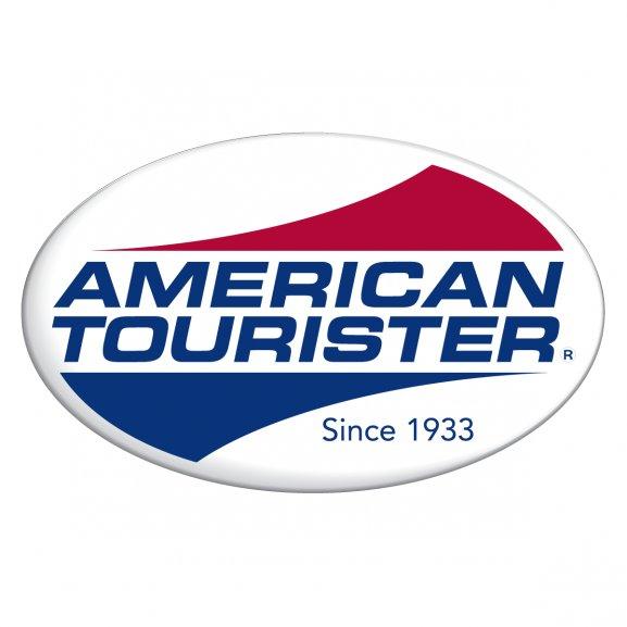 Logo amerického turista