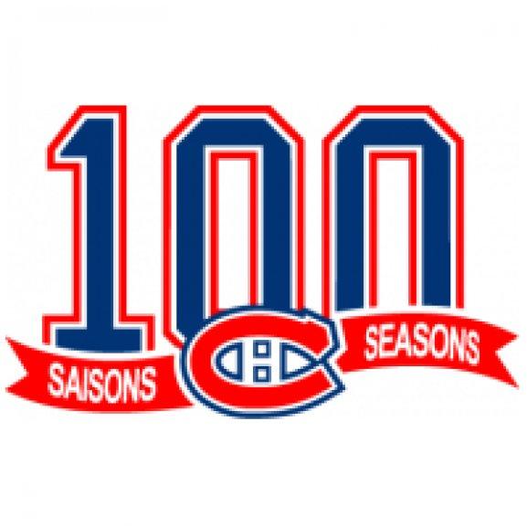 Logo of Montréal Canadiens 100ans