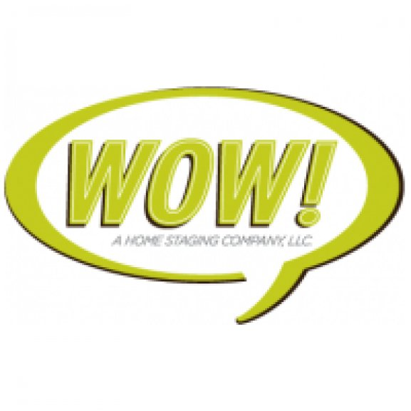 Logo of WOW! A home staging company.