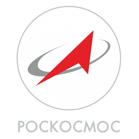 Logo of Pockocmoc - Roscosmos - The Russian Federal Space Agency