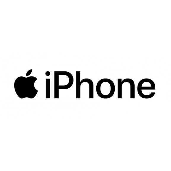 Iphone   Brands of the World™   Download vector logos and logotypes