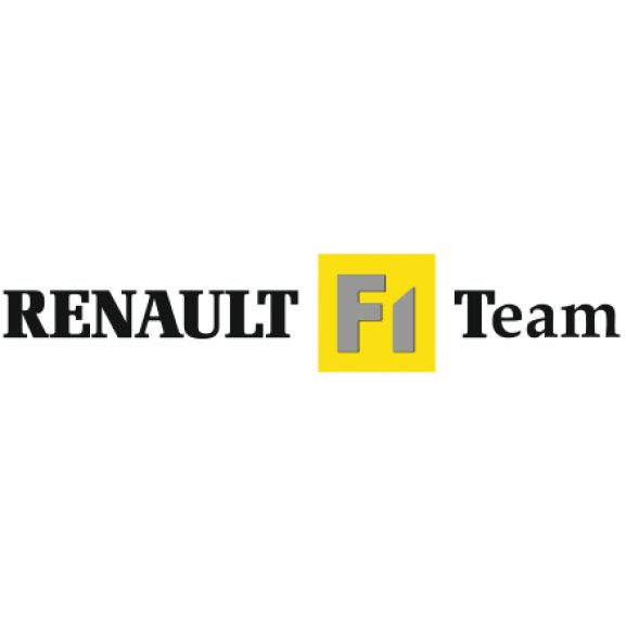 Logo of Renault F1 Team