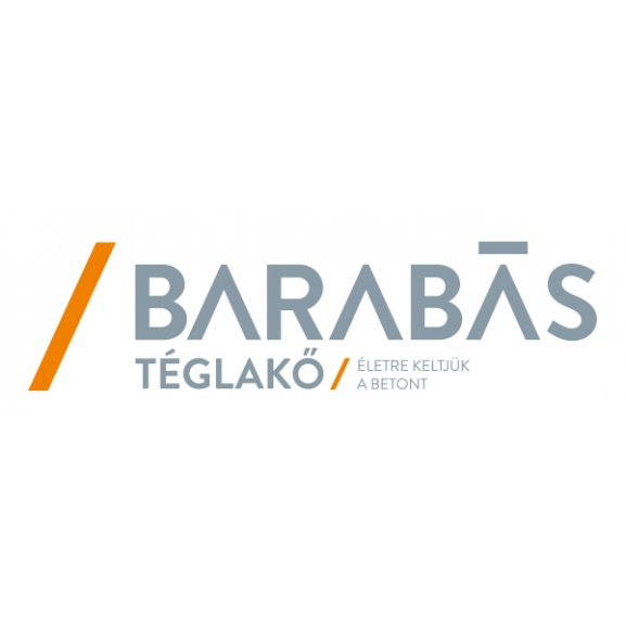 Logo of Barabás Téglakő Kft.