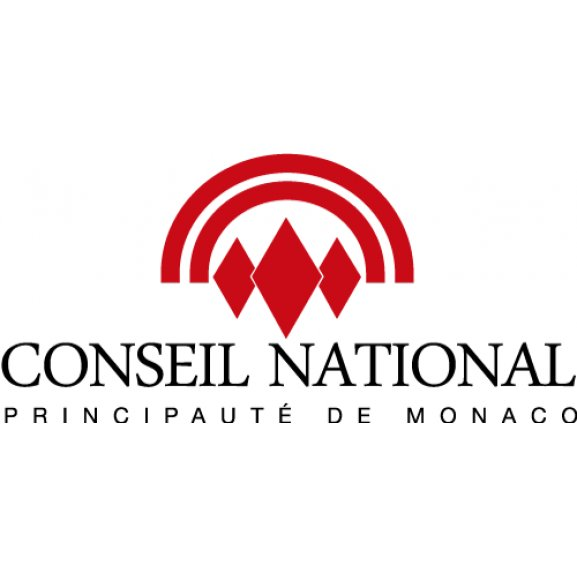 Logo of Conseil National Principaute de Monaco