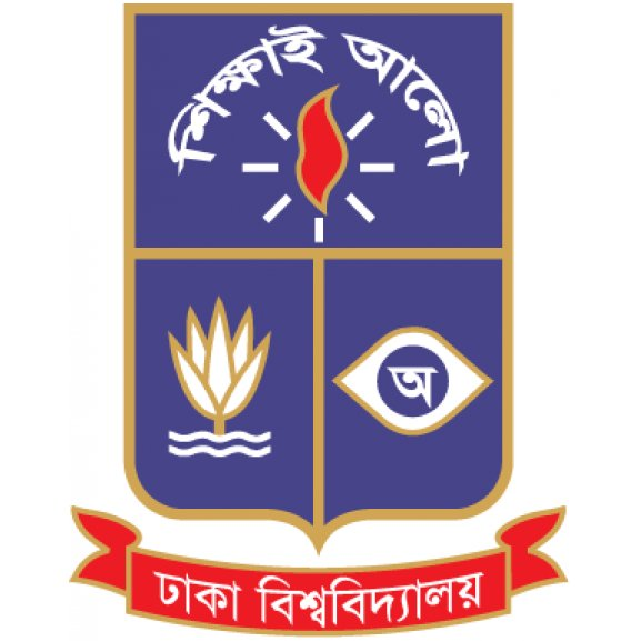 Logo of University of Dhaka