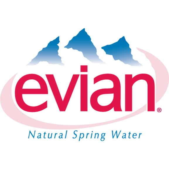 Logo of Evian
