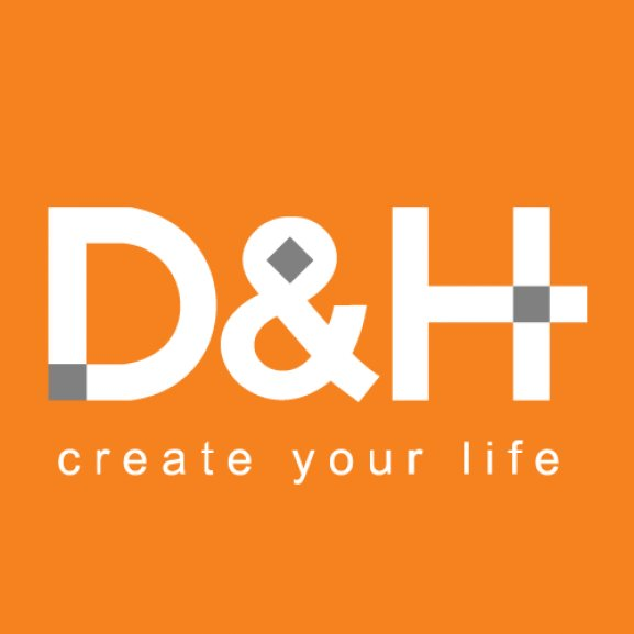 Logo of D&H