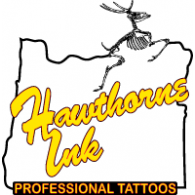 Logo of Hawthorne Ink Tattoo