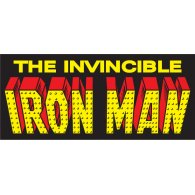 Logo of Iron Man vintage logo