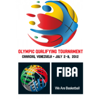 Logo of FIBA Olympic Tournament Qualifying Venezuela 2012