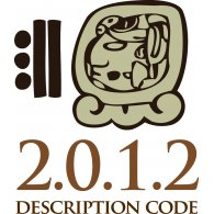 Logo of Mayan Description Code 2012