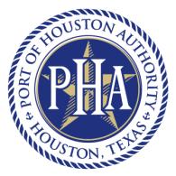 Logo of Port of Houston Authority