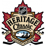 Logo of 2011 NHL Heritage Classic