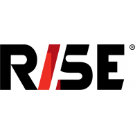 Logo of RISE audio-visual production company