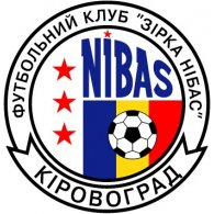 Logo of FK Zirka-NIBAS Kirovograd