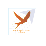 Logo of The Peregrine Falcon Airlines logo