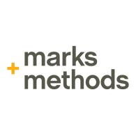 Logo of Marks and Methods Branding agency