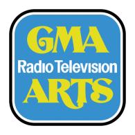 Logo of GMA Radio-Television Arts 1977