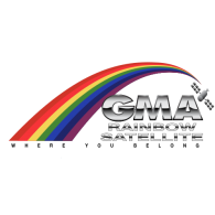 Logo of GMA Rainbow Satellite