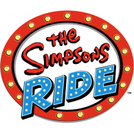 Logo of The Simpsons Ride