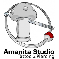 Logo of Amanita Studio _ Tattoo & Piercing