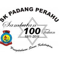 Logo of SK PADANG PERAHU 100 TAHUN