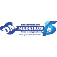 Logo of Distribuidora Medeiros 2015
