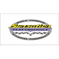 Logo of Sunsation Powerboats World Champion Offshore