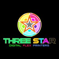Logo of Three Star Printers