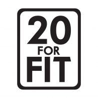 Logo of 20 For Fit