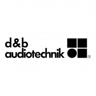 Logo of D&B Audiotechnik