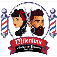 Logo of Milenium Barber Shop