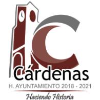Logo of  LOGO AYUNTAMIENTO DE CARDENAS 2018-2021