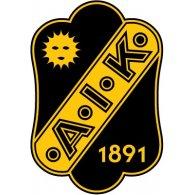 Logo of AIK Solna (80's logo)