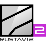 Logo of Rustavi 2 2014