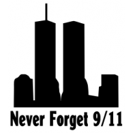 Logo of 9/11 Never forget